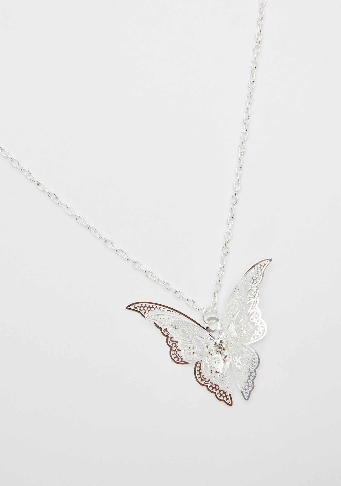 Once Upon A Time Butterfly Necklace