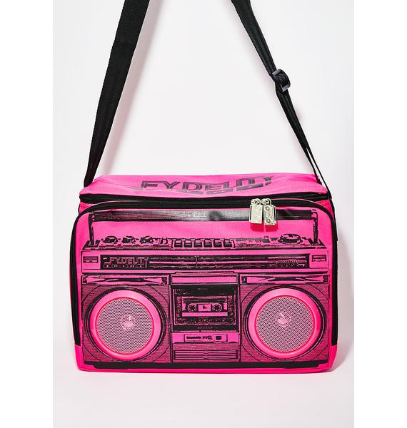 Beat Droppa Stereo Cooler Bag