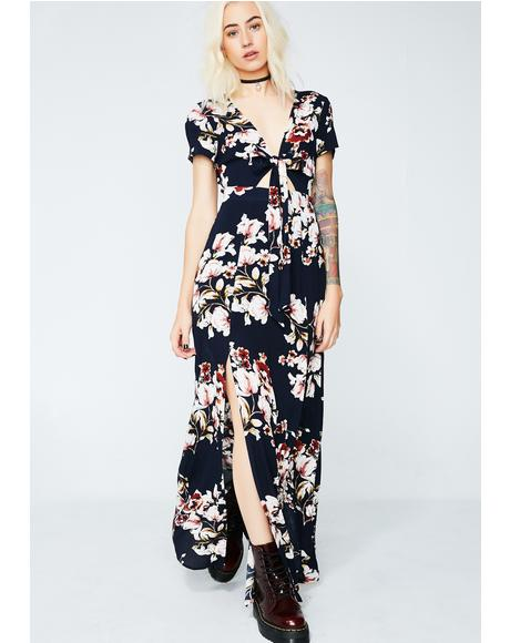 Floral Fantasies Maxi Dress