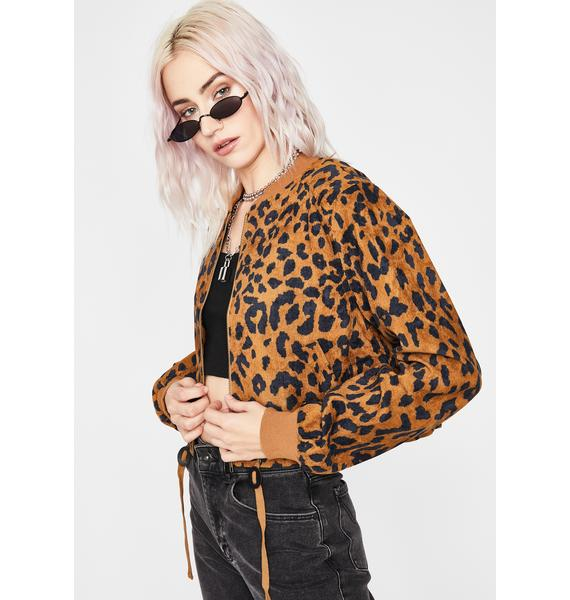 Safari Showdown Bomber Jacket