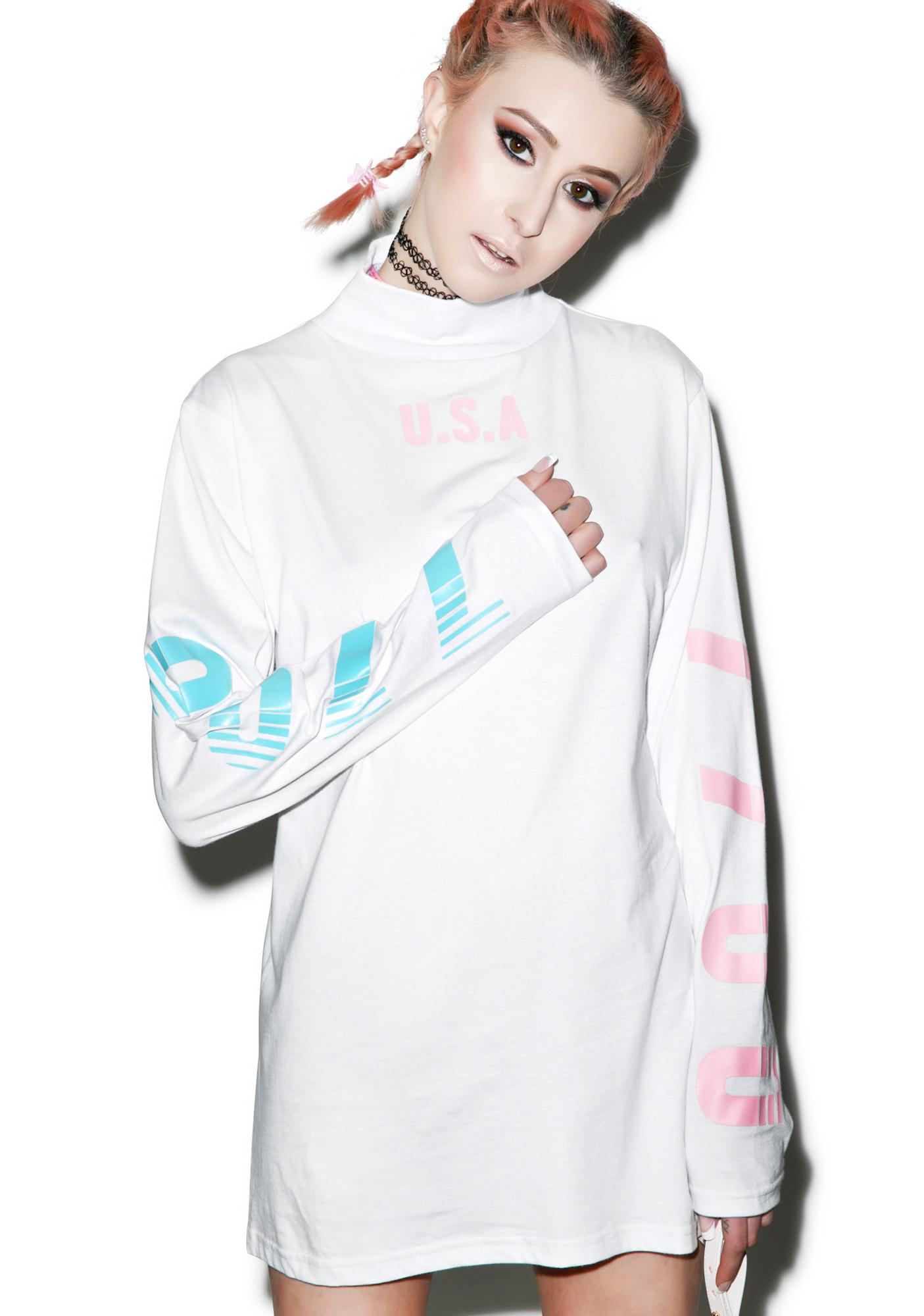 Joyrich 7700 Highneck Long Sleeve Tee