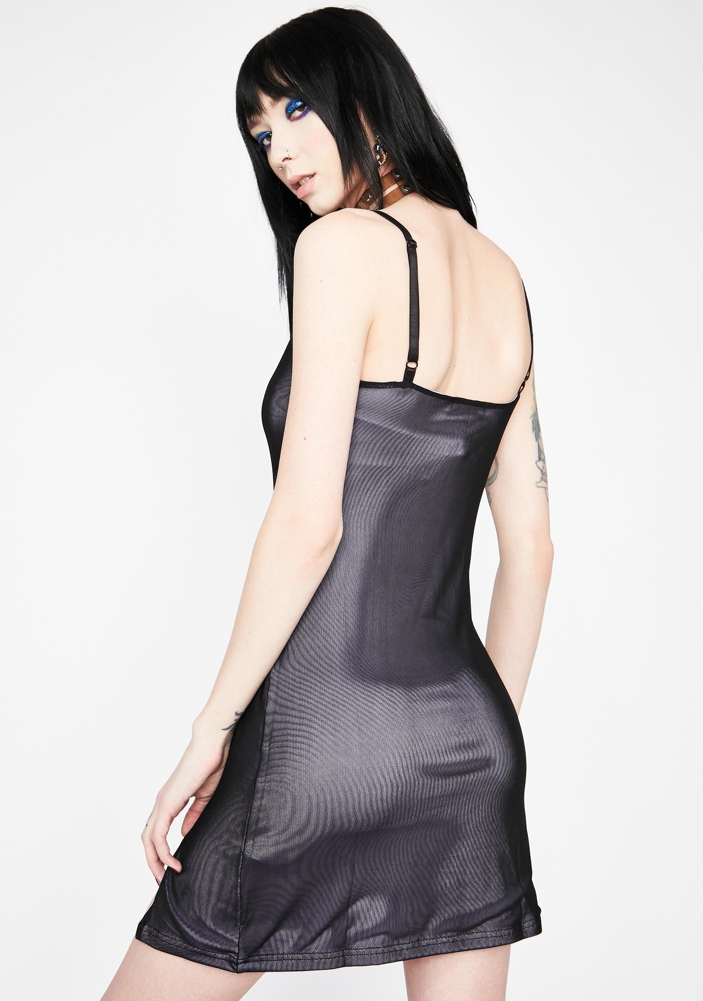HOROSCOPEZ Always Know My Worth Slip Dress
