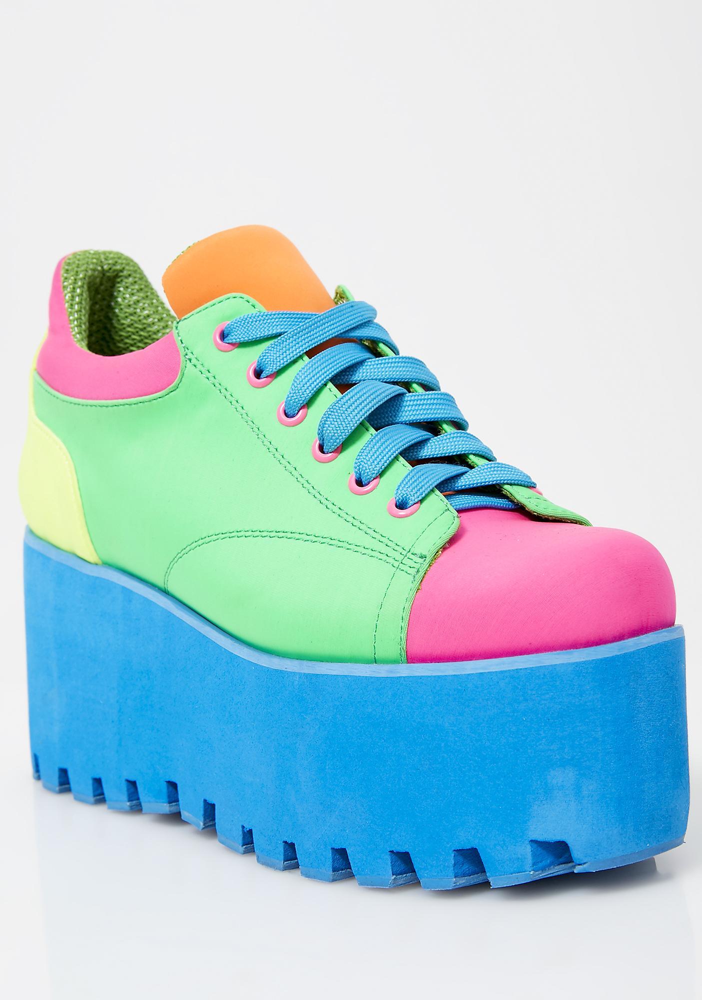 Current Mood Kandi Rush Platform Sneakers