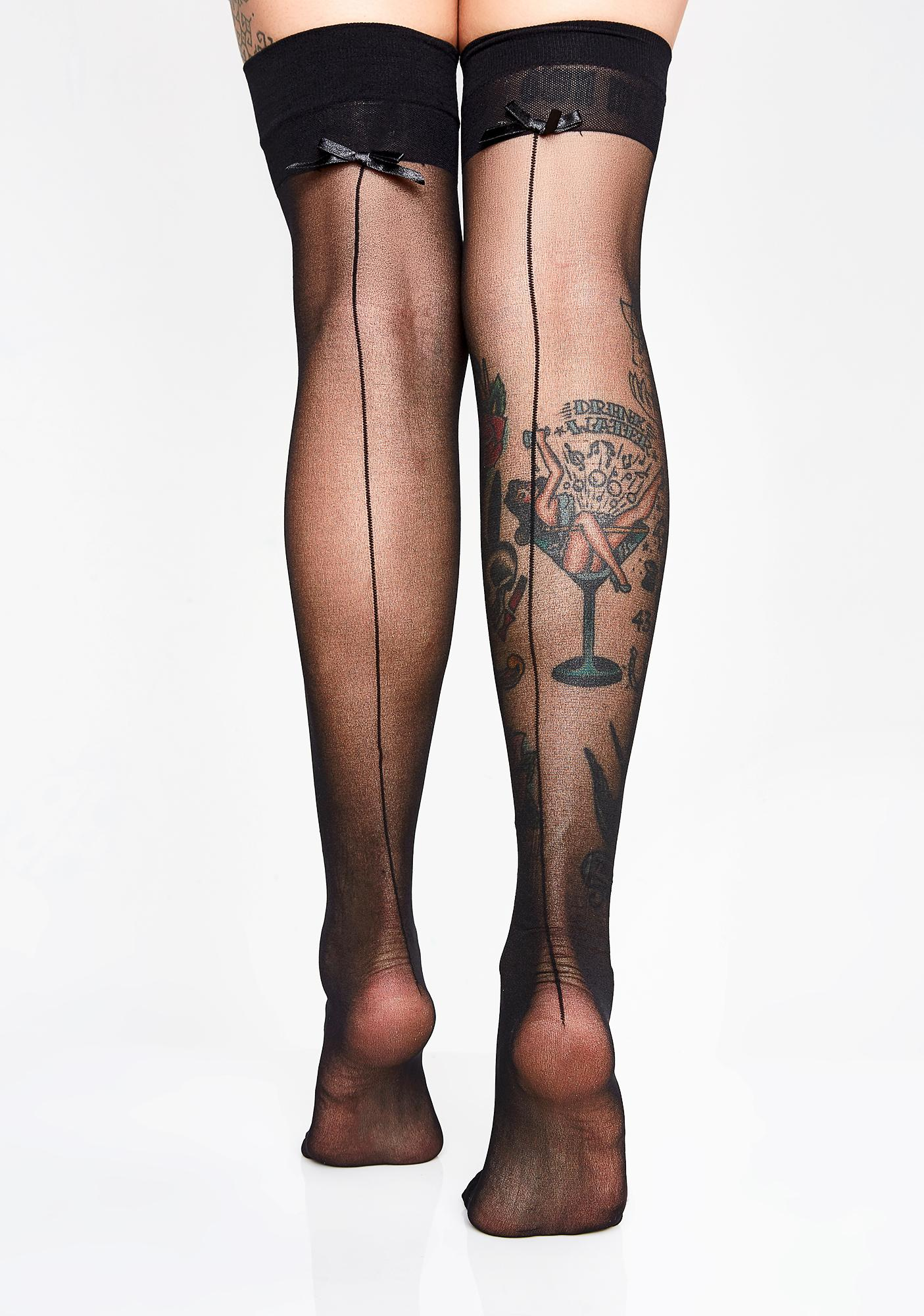 Lust Over Love Sheer Thigh Highs