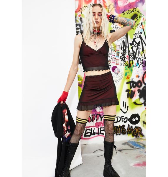 Current Mood Unholy Expression Skirt Set