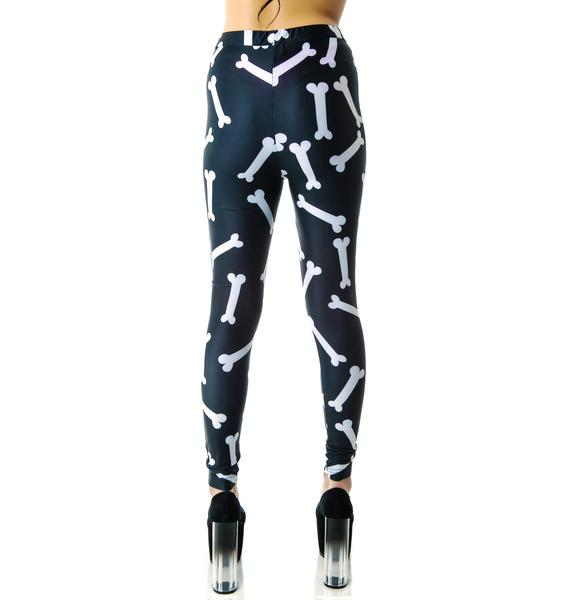 Lazy Oaf Bone Leggings