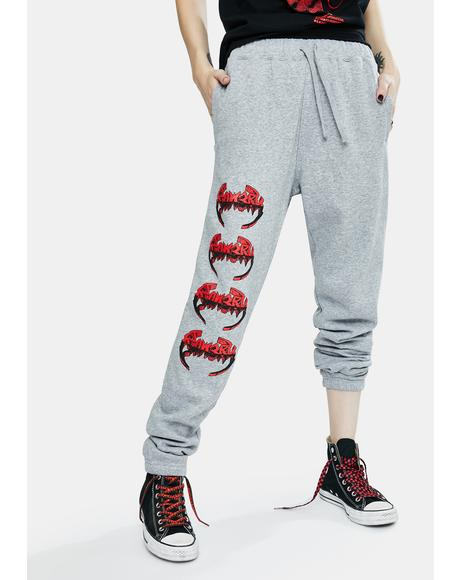 Cold Steel Graphic Sweatpants