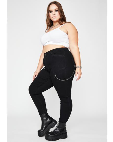 Got Hardcore Love Skinny Jeans