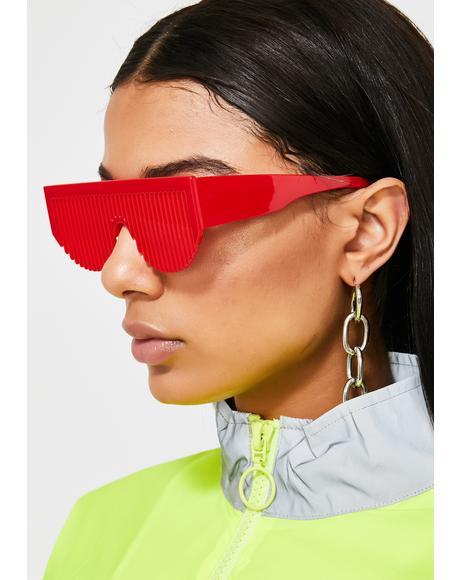 Lit Party Rockers Comb Sunglasses