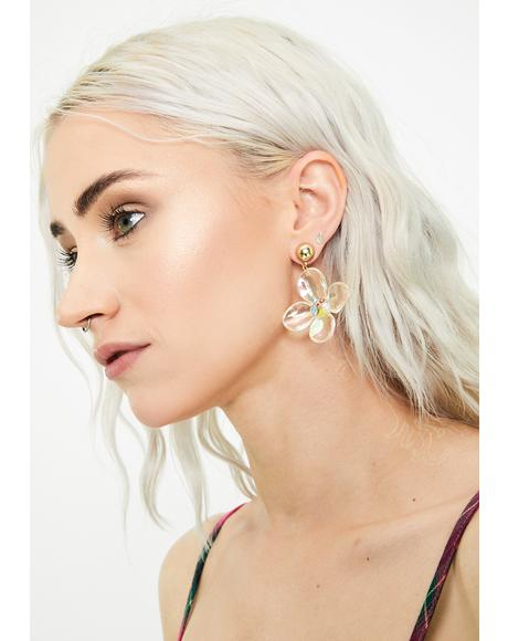 Bloom Within Drop Earrings
