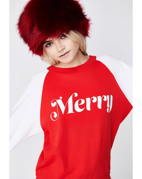 Merry Junior Sweatshirt