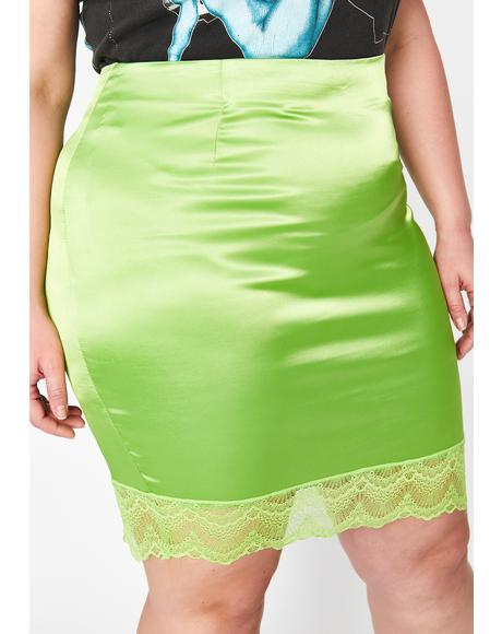 Lush Mz Pretty Girl Rock Mini Skirt