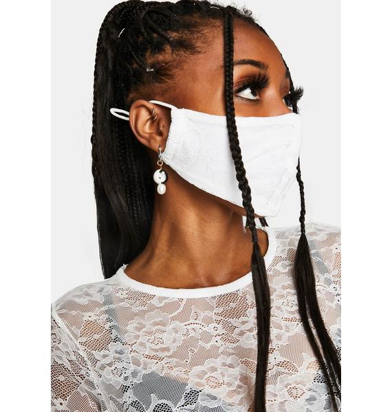 Nii HAi Angel Lace Face Mask