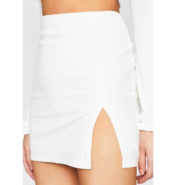 Pure Total Temptation Corduroy Skirt