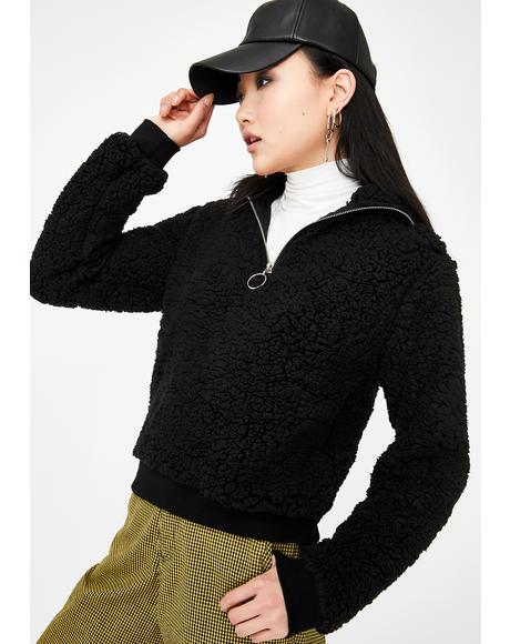 Cozy Up Fleece Sweatshirt