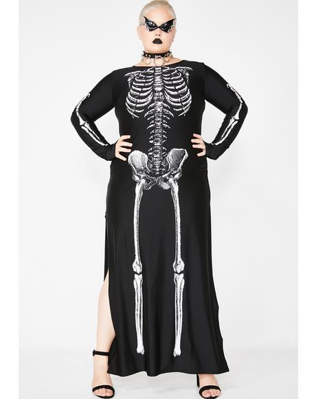 Spooky Bone-afied Babe Costume