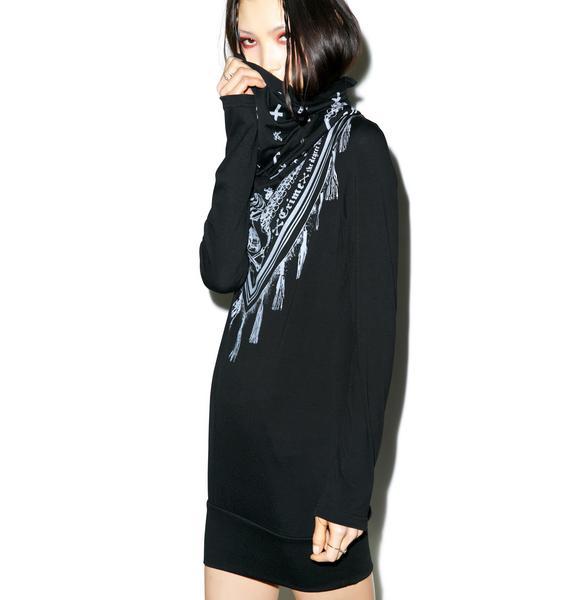 Anguish Scarf Dress
