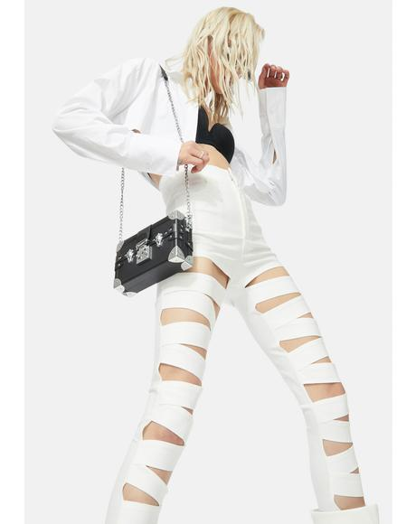 Dripping In Finesse Cutout Skinny Pants