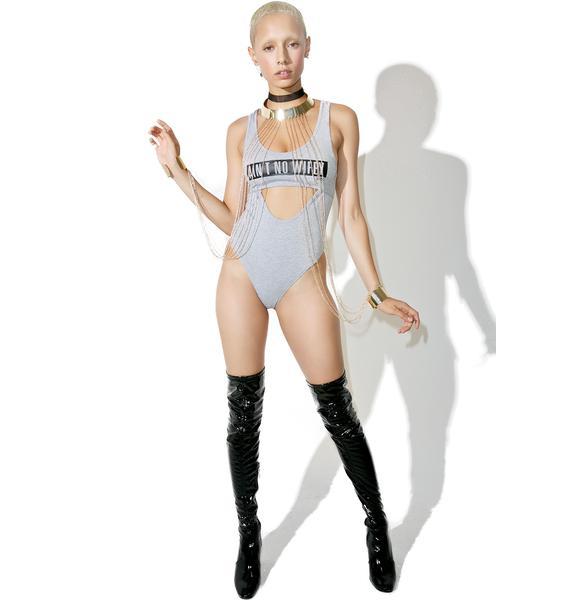 Dimepiece ANW Cutout Bodysuit