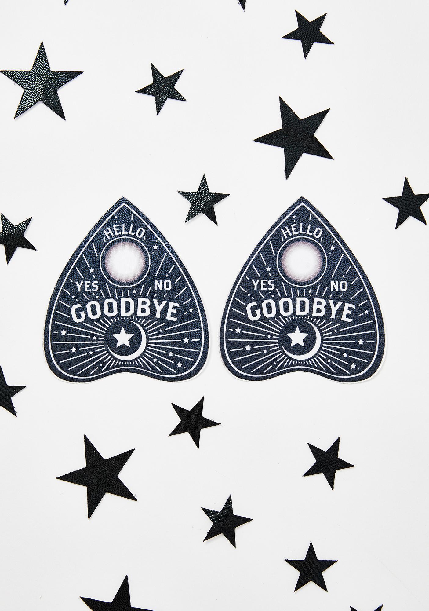 Pastease Ouija Planchette Pasties N' Stars Set