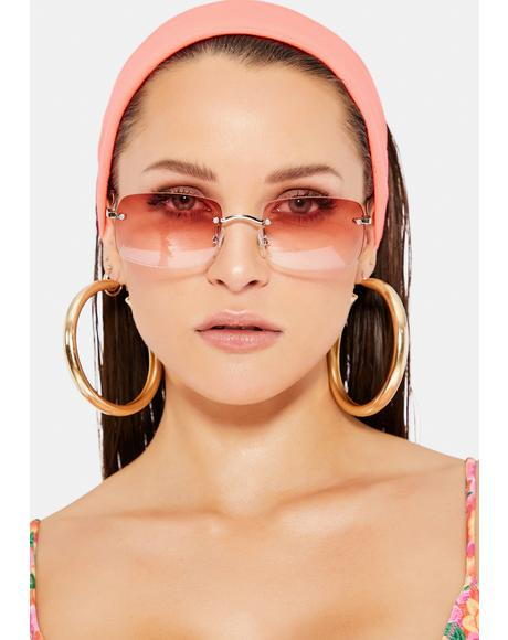 Blush July Sunglasses