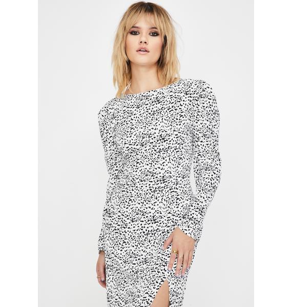 Glamorous Mini Dalmatian Midi Dress