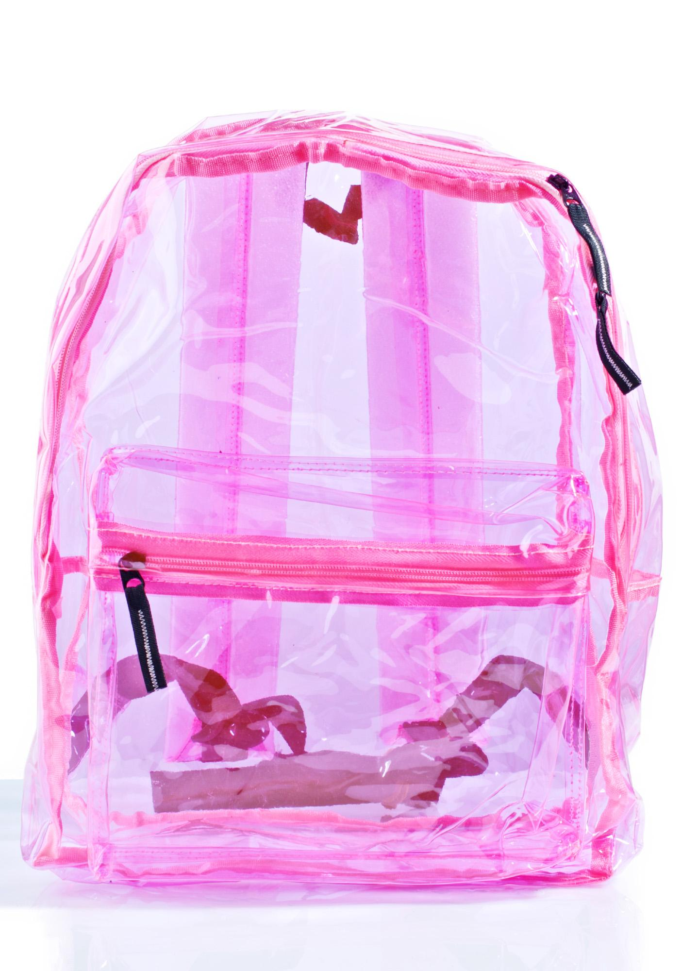 Sunflyer See-Thru Backpack