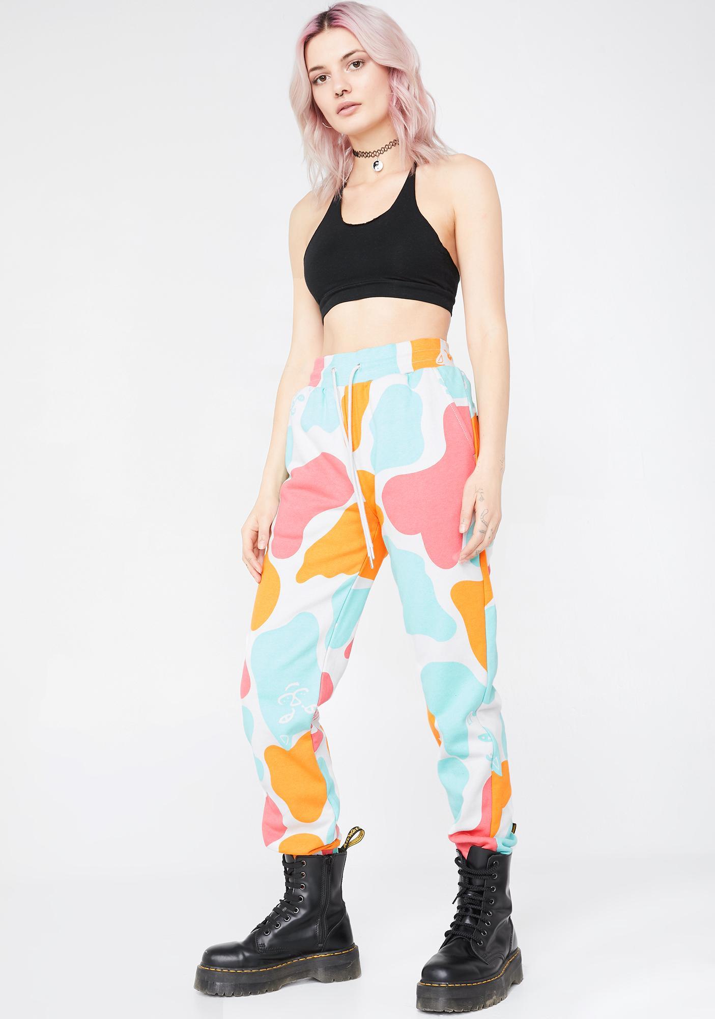 RIPNDIP Oversized Camo Sweatpants