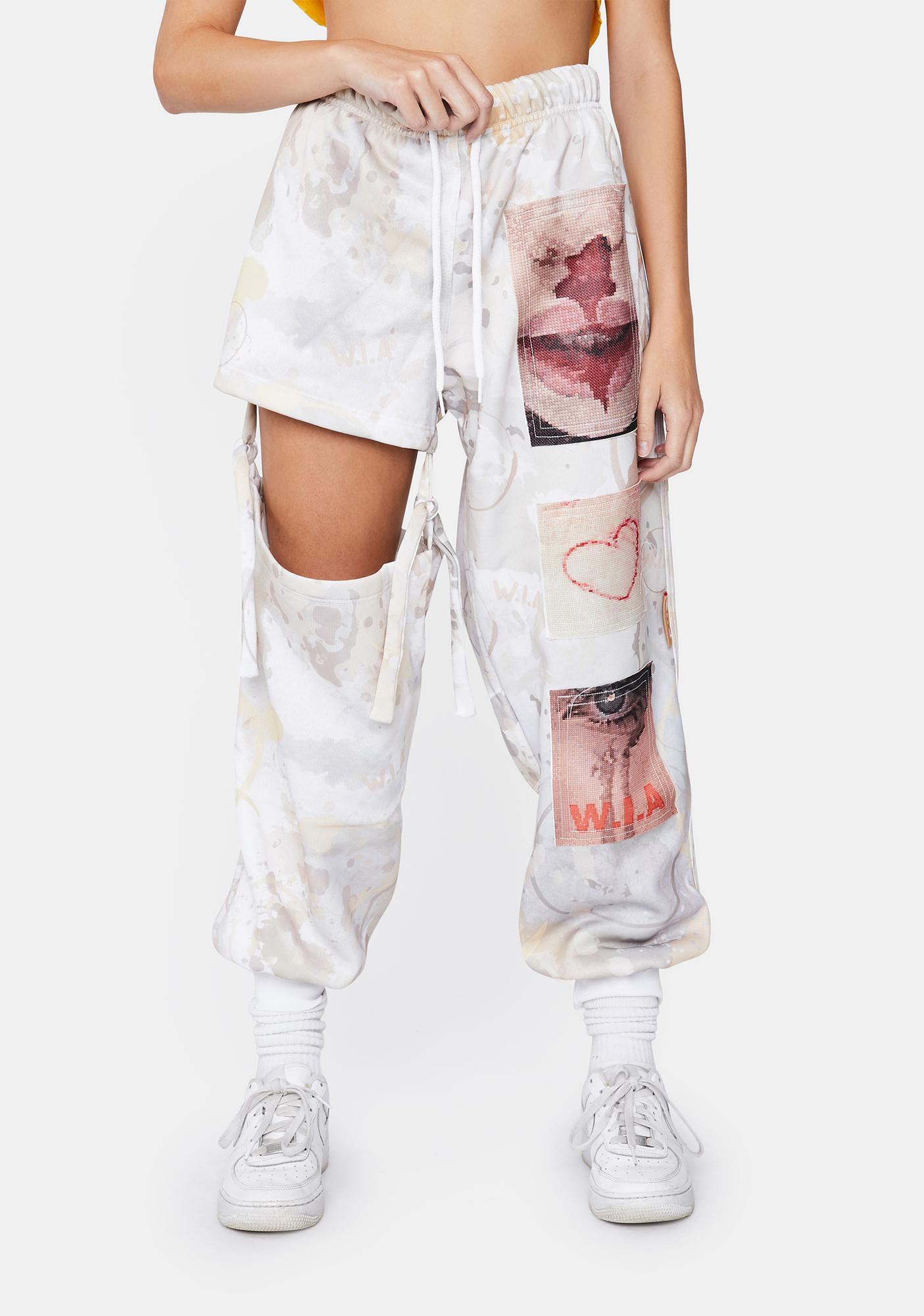 W.I.A Broke Sweatpants