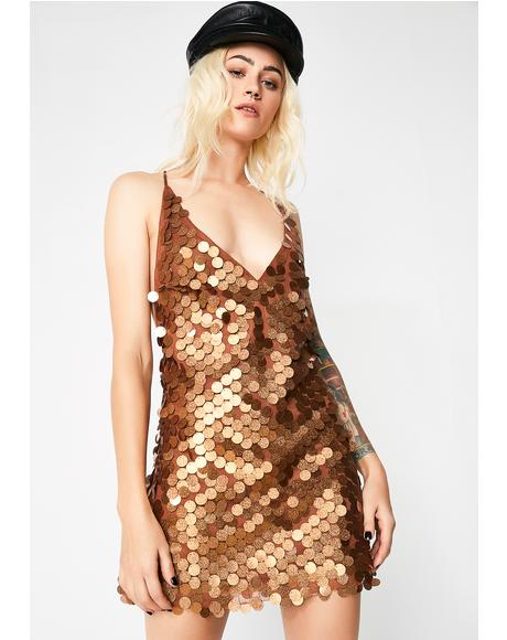 Bronze Finn Dress
