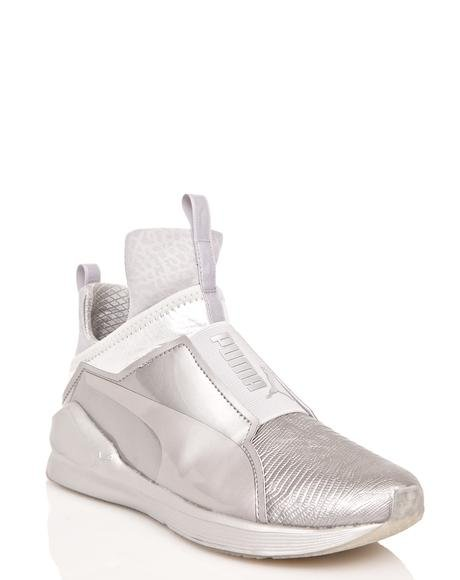 Fierce Metallic Sneakers