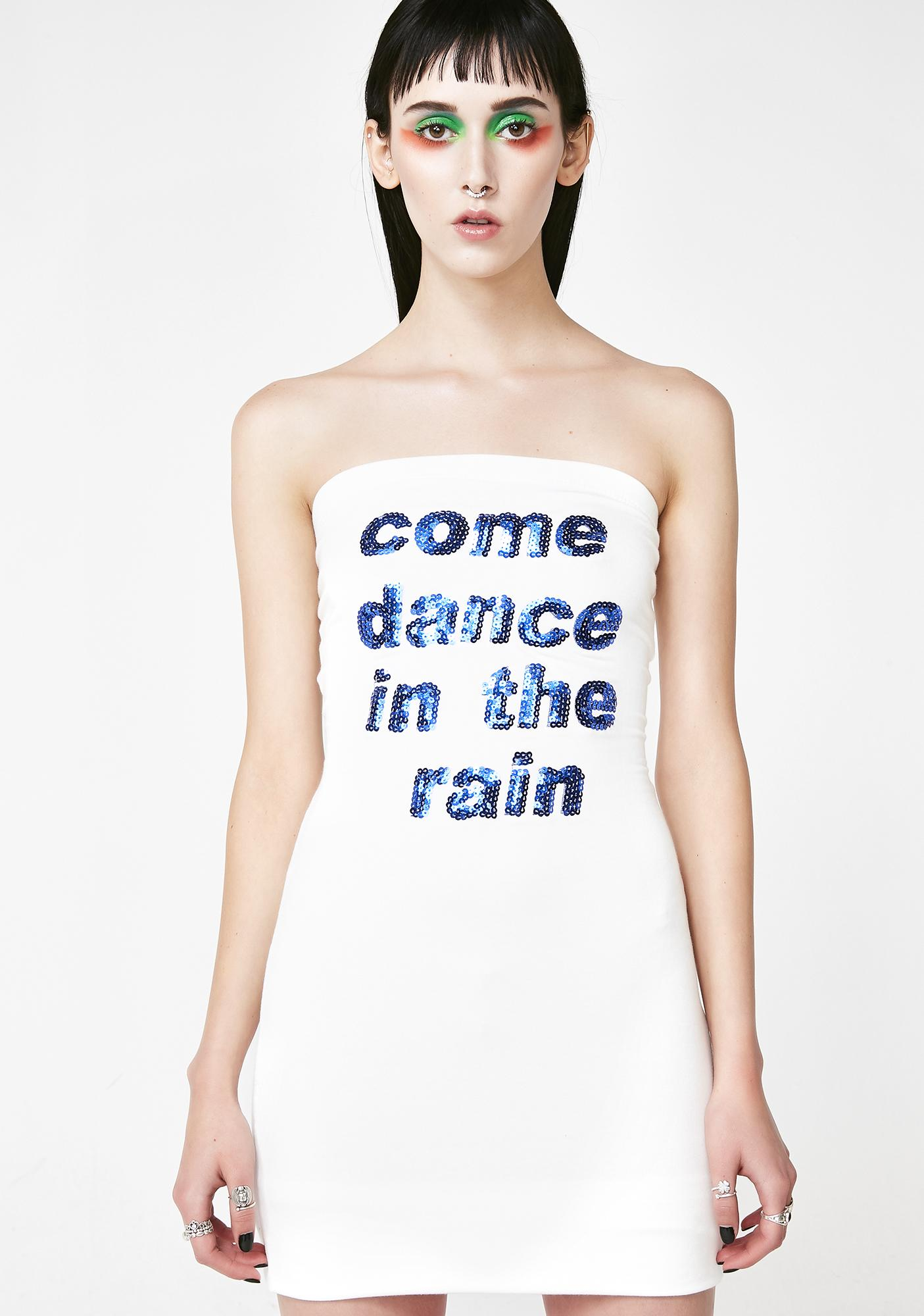 O Mighty Come Dance In The Rain Dress