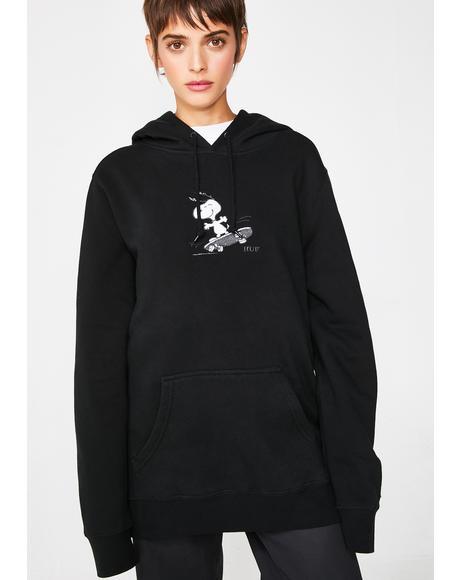 Peanuts Snoopy Skates Hoodie