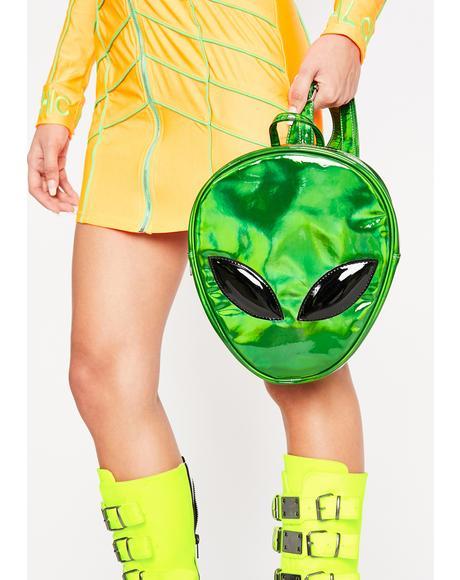 Emerald Alien Transform Backpack