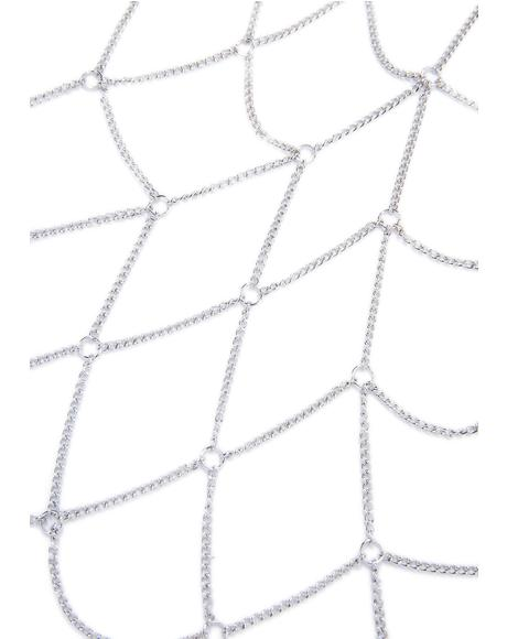 Complex Geometries Halter Body Chain
