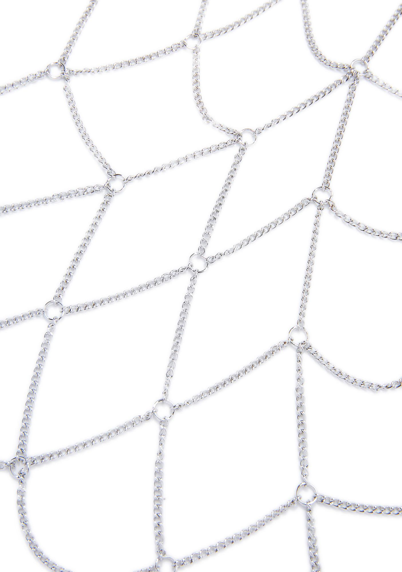 Complex Geometries Halter Body Chain