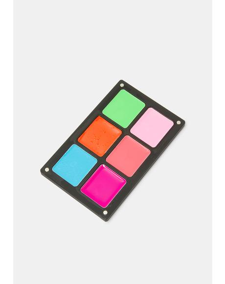 Vivid Waterproof Cream Palette