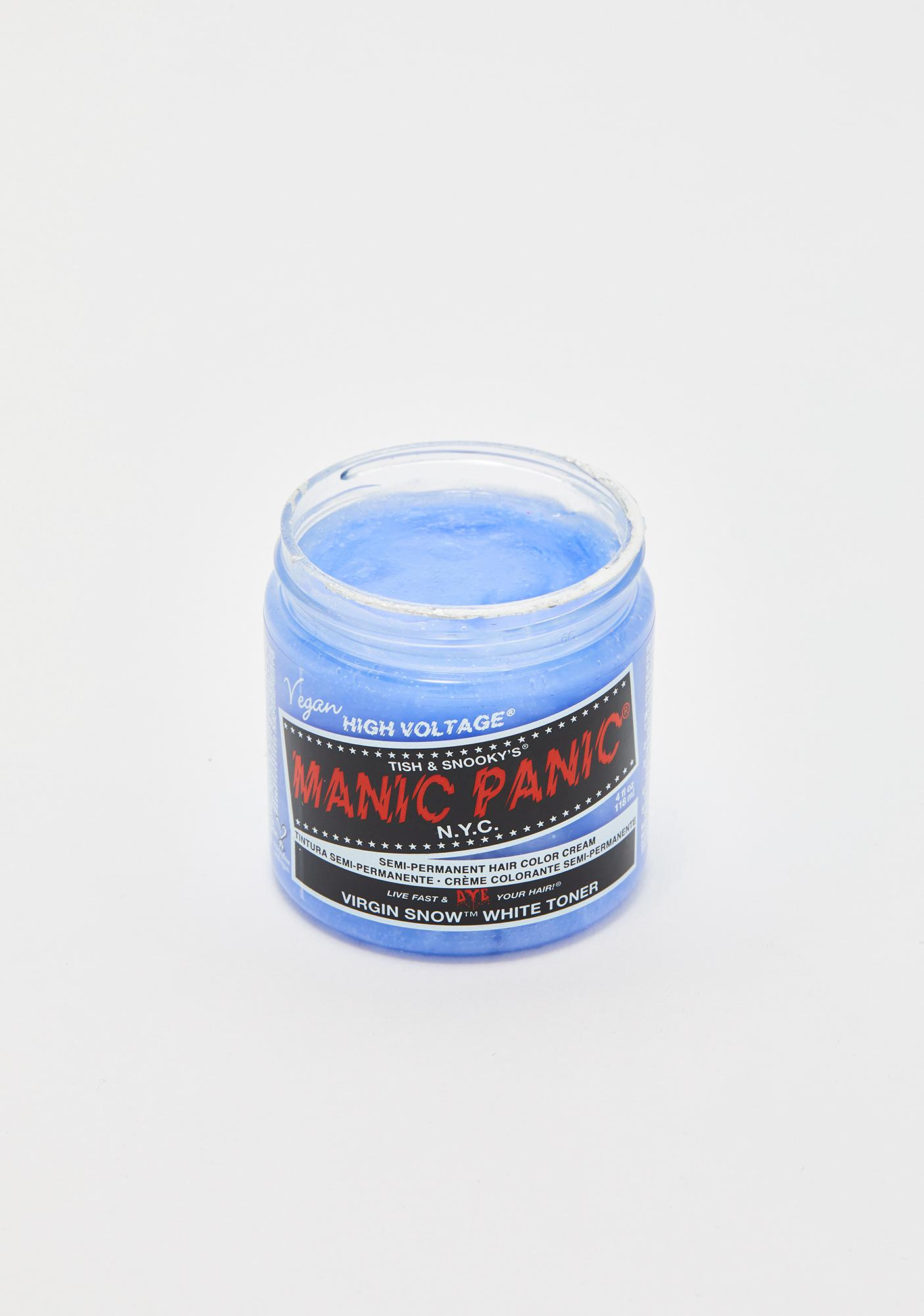 Manic Panic Virgin Snow Classic High Voltage Toner Hair Dye