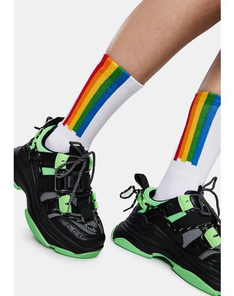 Classic Polaroid Socks