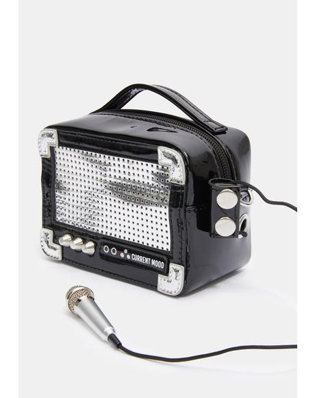 Radio Wave Bluetooth Speaker Bag