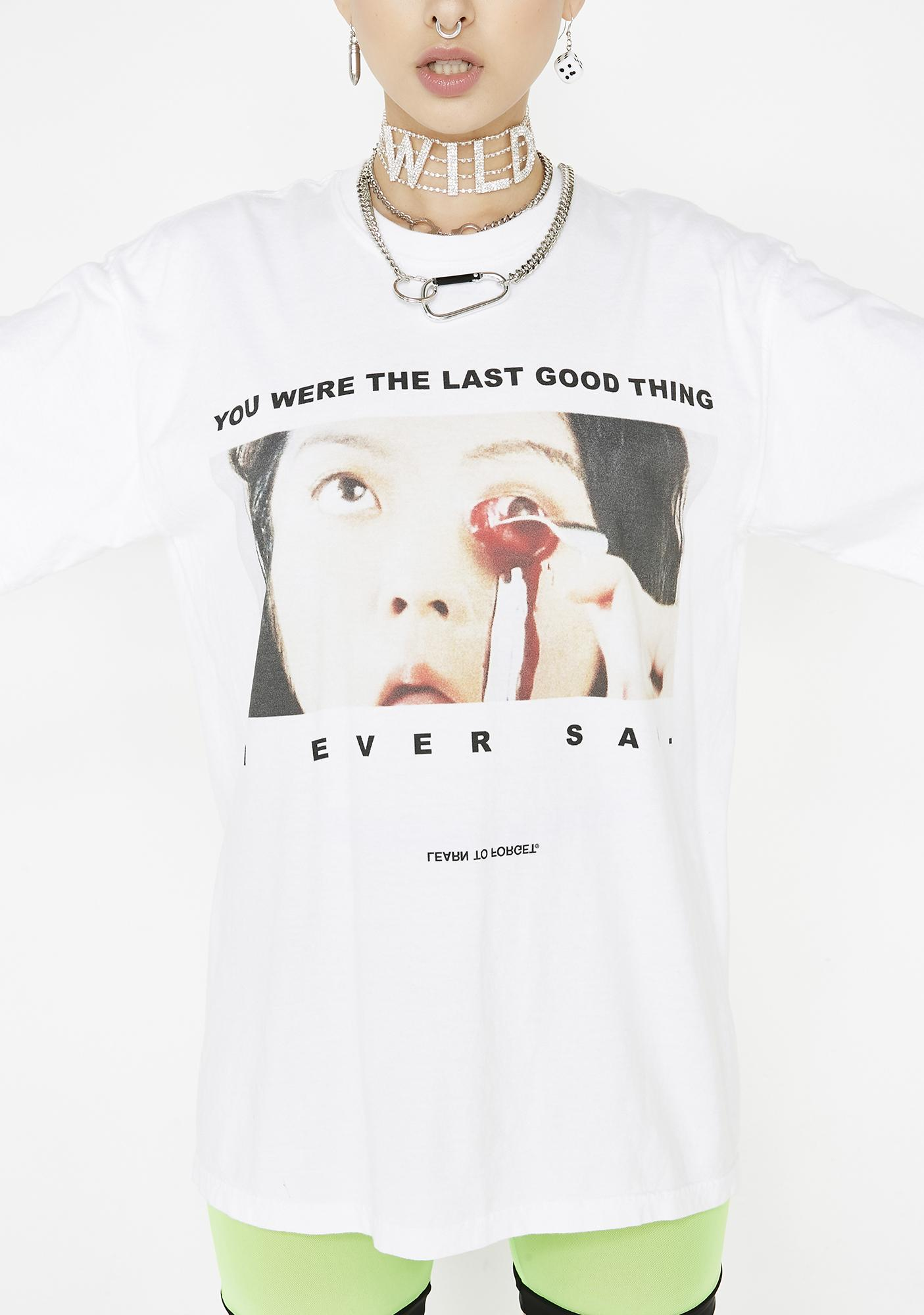 Learn To Forget  Last Good Thing Tee