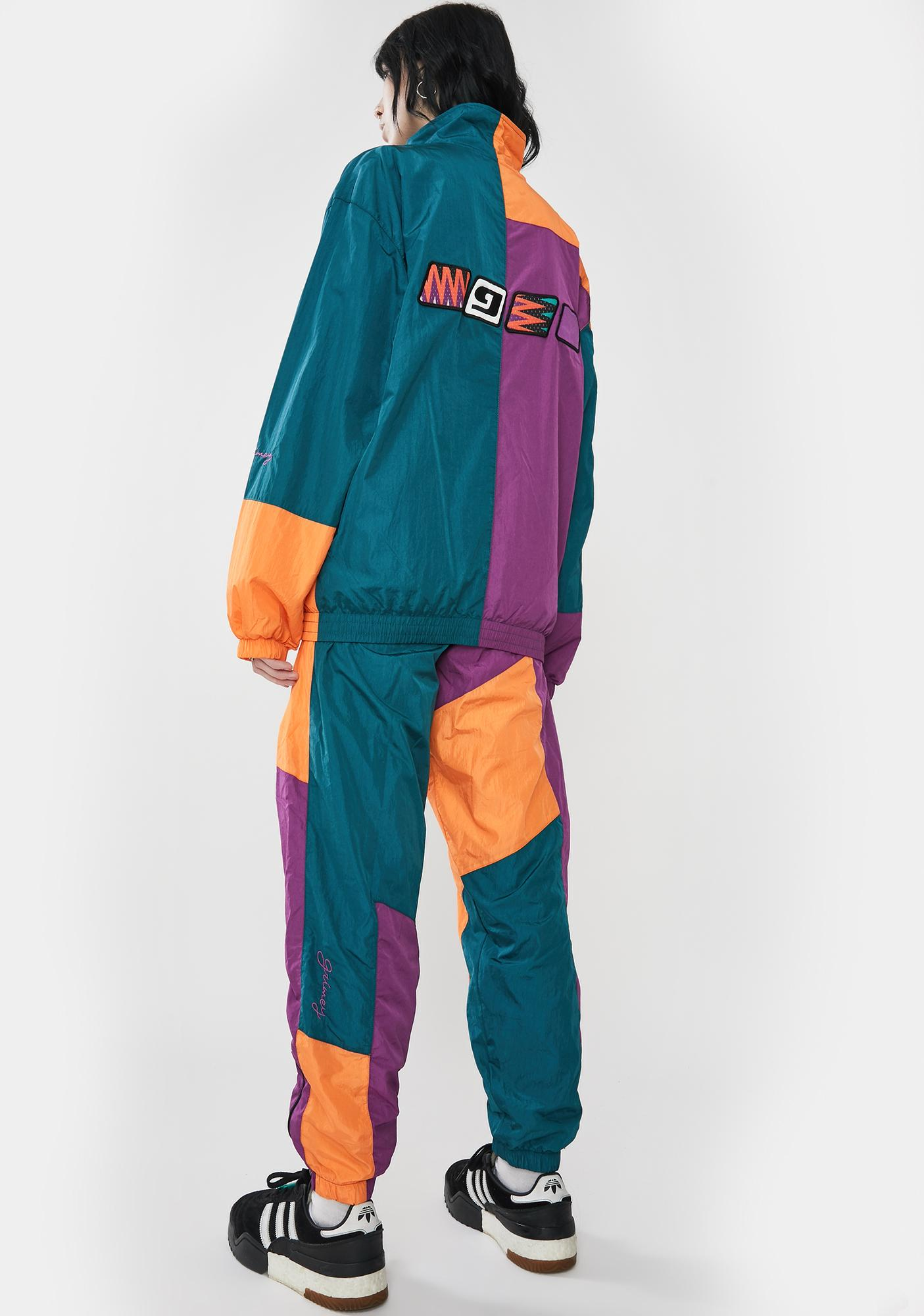 GRIMEY Acknowledge Color Block Track Pants