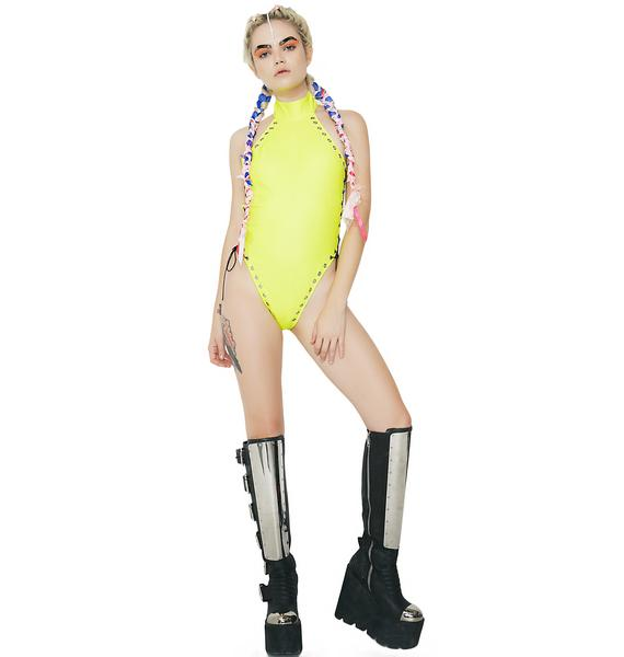 Club Exx Unlace Me Bodysuit