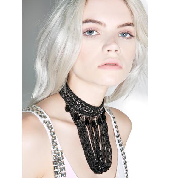Akasha Pearl & Chain Necklace