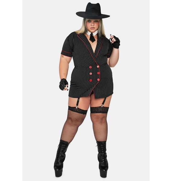 Dolls Kill Miss Mob Wife Costume Set