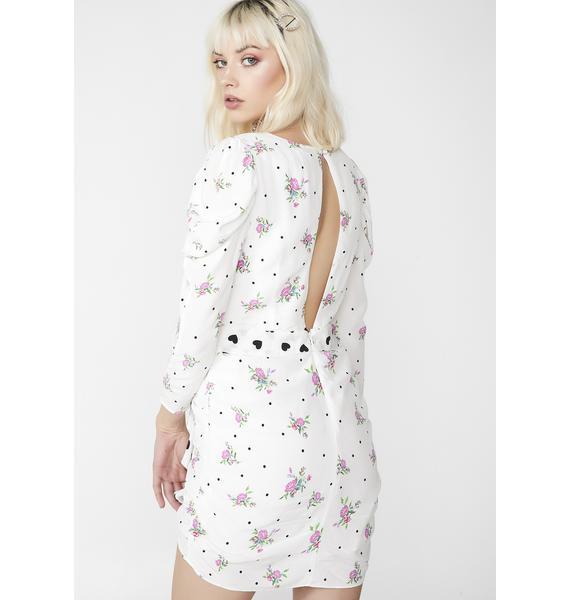 For Love & Lemons Mabel Mini Dress