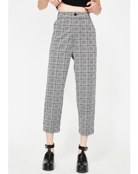 Cristina Tartan Trousers