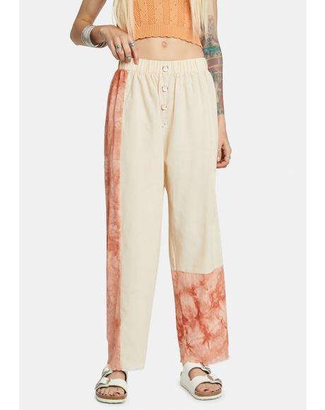 Paprika Patchwork Pants