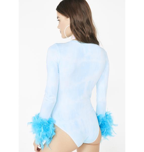Daisy Shock Electric Mermaid Bodysuit