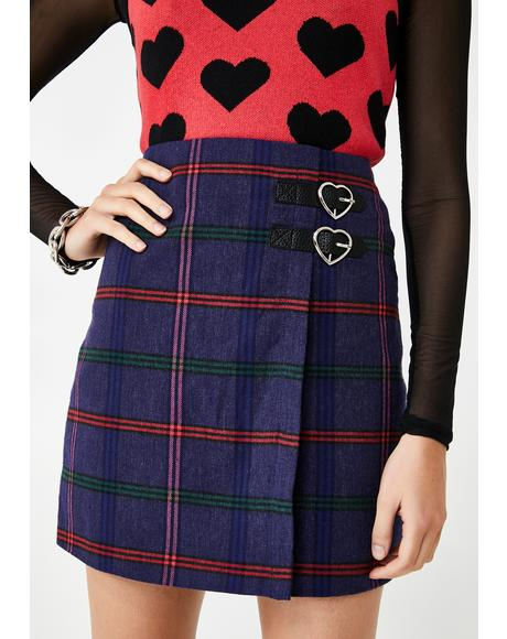 Getting Plaid Kilt Skirt